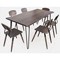 Jofran Nature's Edge 7-Piece Table and Chair Set