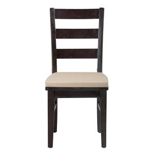 Jofran Prospect Creek Pine Three Rung Ladderback Chair