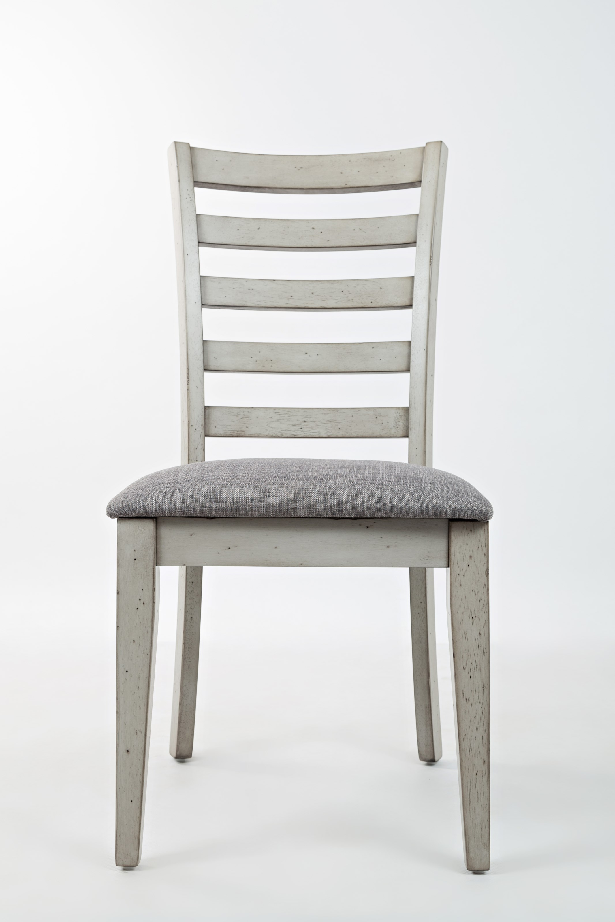 Ladder Back Dining Chair with Upholstered Seat by Jofran