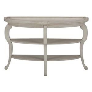 Jofran Sebastian Demilune Sofa Table