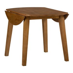 Jofran Simplicity Round Drop Leaf Table
