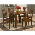 Jofran Simplicity Slat Back Side Chair for Table Sets