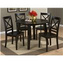 "Jofran Simplicity ""X"" Back Dining Room and Kitchen Side Chair"