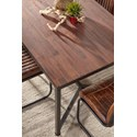 Jofran Studio 16 Dining Table - Table Top Detail Shot