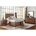Jofran Studio 16 Queen Size Bed - Image May Not Represent Size Indicated