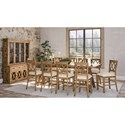 11-Piece Counter Height Table and Chair Set