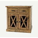 Jofran Telluride  2 Drawer Accent Chest