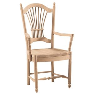 John Thomas SELECT Dining Sheaf Back Arm Chair