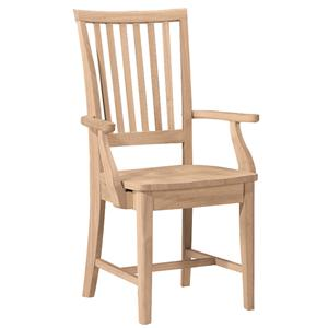 John Thomas SELECT Dining Mission Arm Chair
