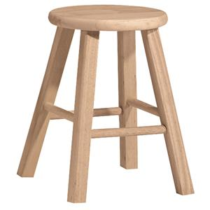 "John Thomas SELECT Dining 18"" Round Top Stool"
