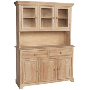 John Thomas SELECT Dining 6-Door 3-Drawer Buffet & Hutch
