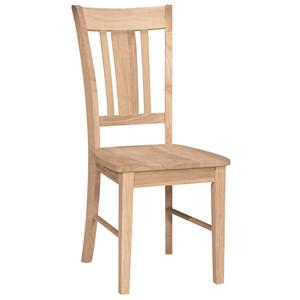 John Thomas SELECT Dining San Remo Slatback Chair