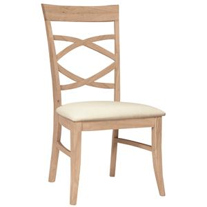 John Thomas SELECT Dining Milano Chair with Seat Cushion
