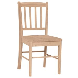 John Thomas SELECT Dining Capri Slatback Chair