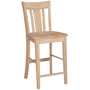 "John Thomas SELECT Dining 24"" San Remo Stool"