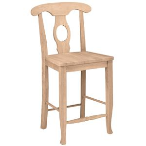 "John Thomas SELECT Dining 24"" Empire Stool"