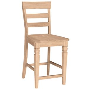 "John Thomas SELECT Dining 24"" Java Stool"
