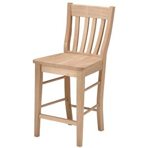 "John Thomas SELECT Dining 24"" Cafe Stool"