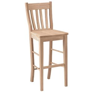 "John Thomas SELECT Dining 30"" Cafe Stool"
