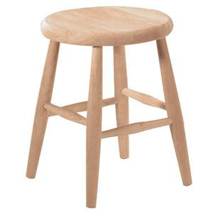 "John Thomas SELECT Dining 18"" Scoop Seat Stool"