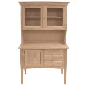 John Thomas SELECT Dining 2-Door Hutch & Huntboard Server