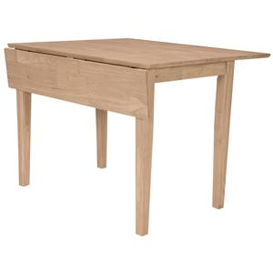 John Thomas SELECT Dining Square Dropleaf Shaker Table