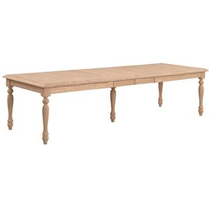John Thomas SELECT Dining Waterfall Edge Extension Table w/ Fluted Leg
