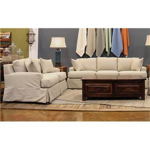 Jonathan Louis  370                                               Sofa & Loveseat