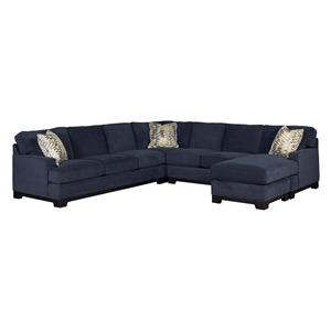 Jonathan Louis Choices - Kronos 4-Piece Sectional with Chaise