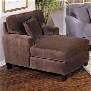 Jonathan Louis Lauren Upholstered Chaise