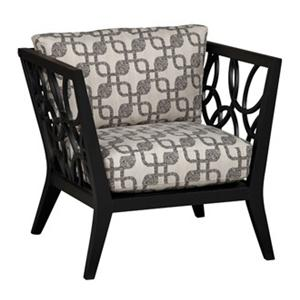 Jonathan Louis Ridley Metal Accent Chair