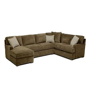 Jonathan Louis Tyler  3-Piece Sectional