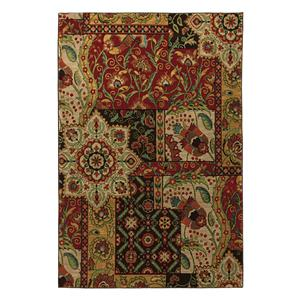 Karastan Rugs Original Karastan Monte Vista Crimson Rectangle 5ft 6in x 8ft