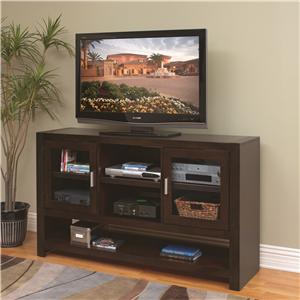 kathy ireland Home by Martin Carlton 36-Inch Tall TV Console