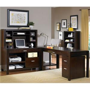 kathy ireland Home by Martin Carlton L Shape Desk