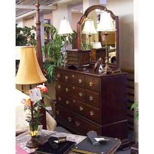 Kincaid Furniture Carriage House Bureau & Landscape Mirror