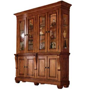 Kincaid Furniture Tuscano 2 Piece China Hutch