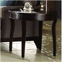 Kincaid Furniture Alston Oval End Table - Shown in living room setting