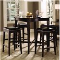 Kincaid Furniture Alston 5 Piece Table and Chair Set - Item Number: 92-059+4x069