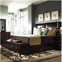 Kincaid Furniture Alston King Storage Bed - Item Number: 92-152H+139F+305+137+00-830