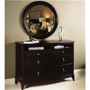 Kincaid Furniture Alston Dresser & Mirror Combo