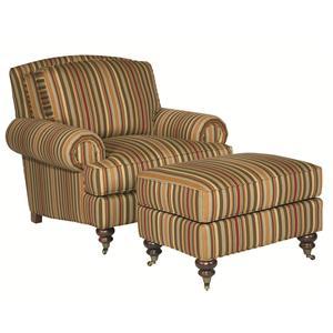 Kincaid Furniture Banbury Chair & Ottoman