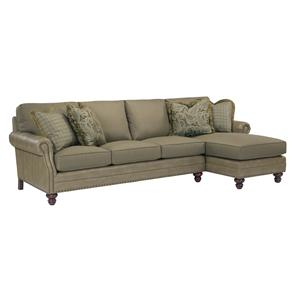 Kincaid Furniture Bayhill 2 Piece Sectional Sofa w/ RAF Chaise