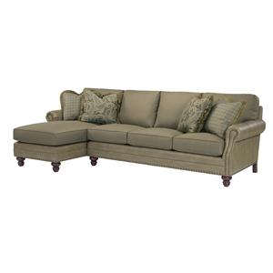 Kincaid Furniture Bayhill 2 Piece Sectional Sofa w/ LAF Chaise