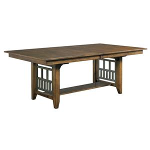 Kincaid Furniture Bedford Park Bedford Trestle Dining Table
