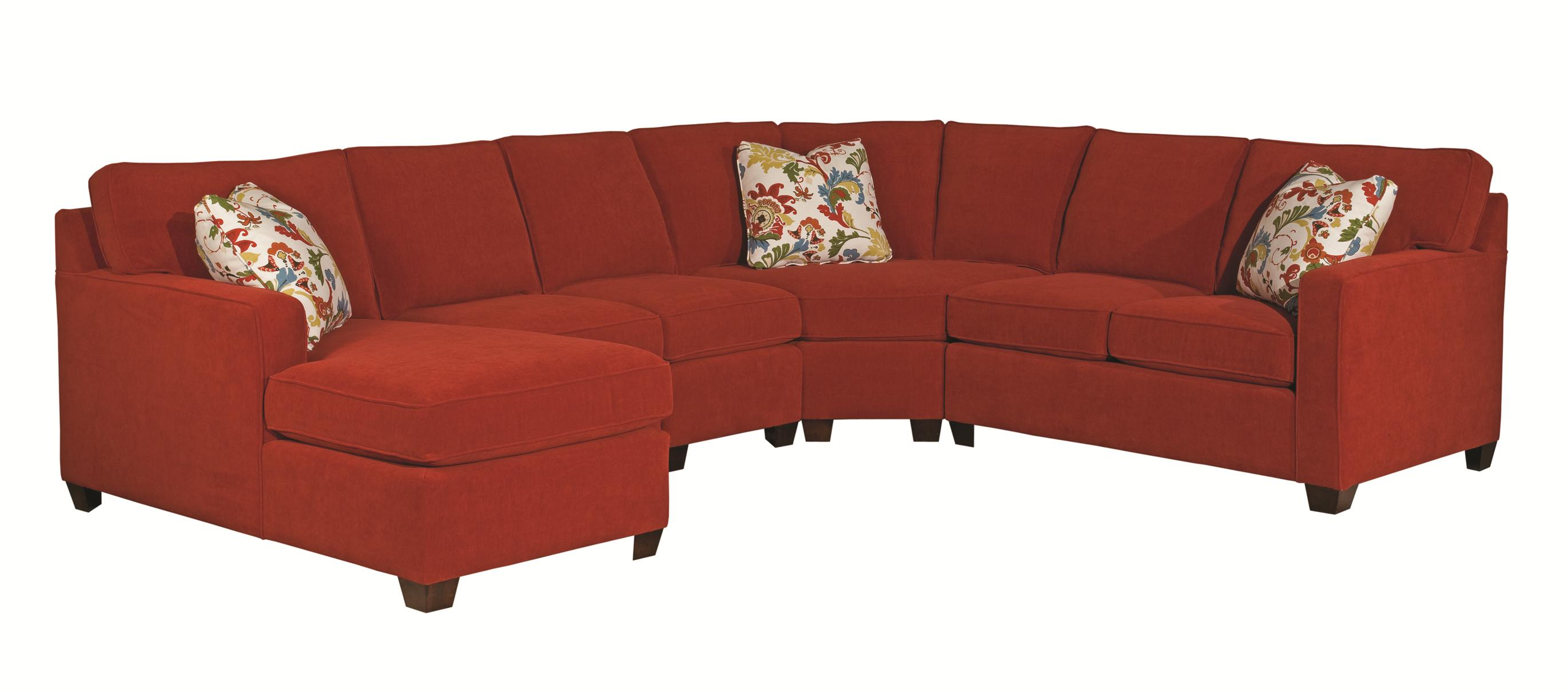 Five Piece Sectional Sofa By Kincaid Furniture Wolf And Gardiner  ~ Five Piece Sectional Sofa