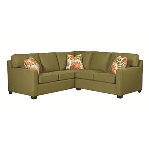Kincaid Furniture Brooke 2 Pc Sectional Sofa