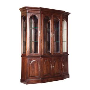 Kincaid Furniture Carriage House Canted China Cabinet