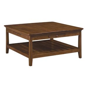 Kincaid Furniture Cherry Park Square Cocktail Table