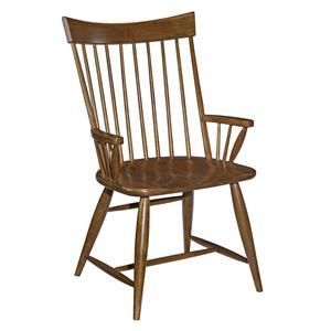 Kincaid Furniture Cherry Park Windsor Arm Chair